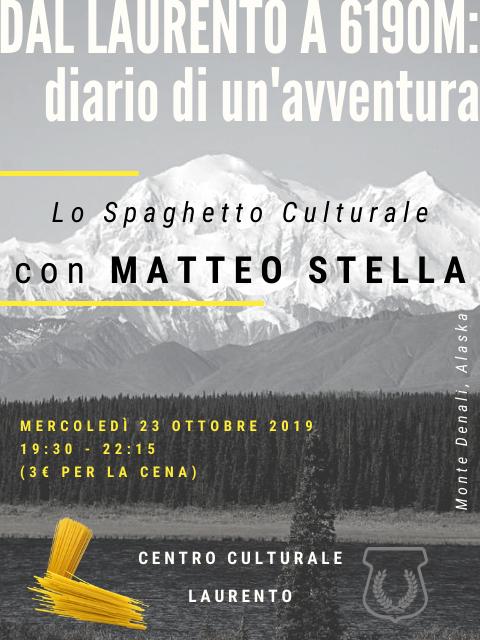 Spaghetto Cuturale: Dal Laurento a 6.190Mt Diario di un'avventura